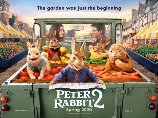 Petter Rabbit 2 The Runaway Poster