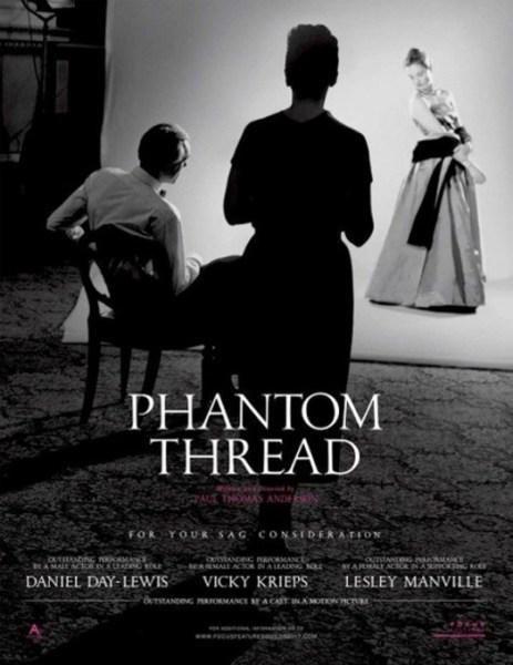 Phantom Thread New Poster