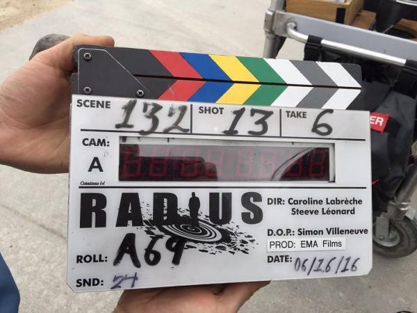 Radius Film Clapperboard