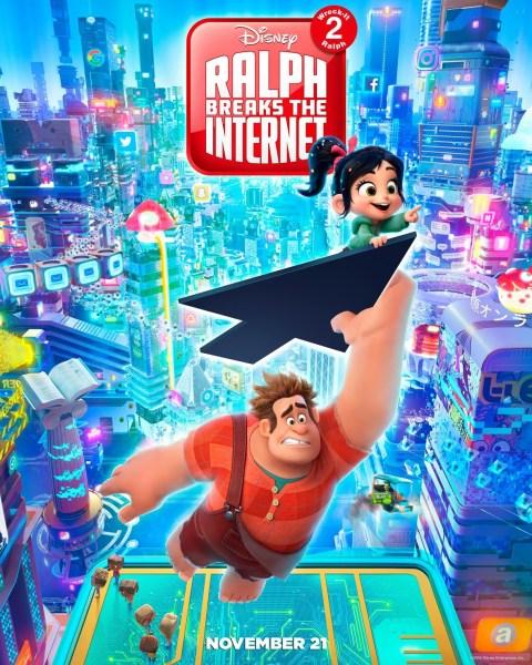 Ralph Breaks The Internet New Film Poster