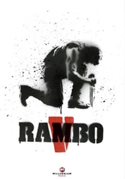 Rambo V Movie Teaser Poster