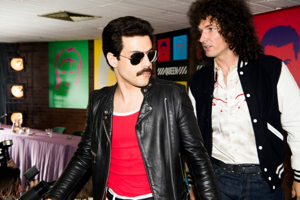 Rami Malek (Freddie Mercury) and Gwilym Lee (Brian May) star in Twentieth Century Fox's BOHEMIAN RHAPSODY