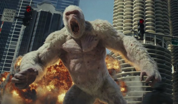 Rampage Movie - Meet the Giant White Gorilla