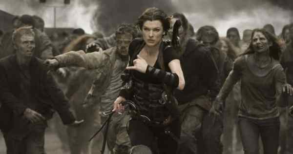 Resident Evil 6 Movie Milla Jovovich