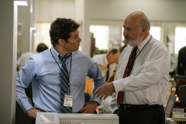 Rob Reiner and James Marsden in Shock And Awe