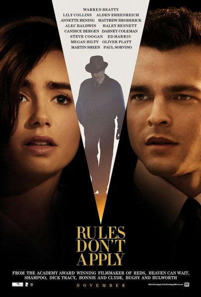 Rules Don't Apply Movie Poster