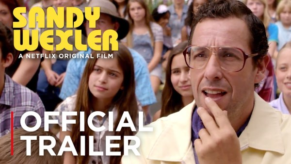 Adam Sandler is Sandy Wexler