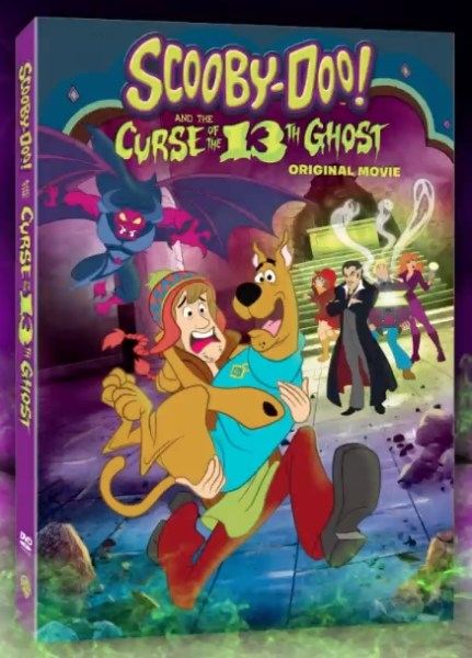 Scooby Doo And The Curse Of The 13th Ghost Movie DVD Cover