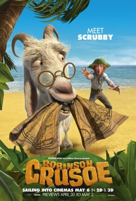 Scrubby the goat