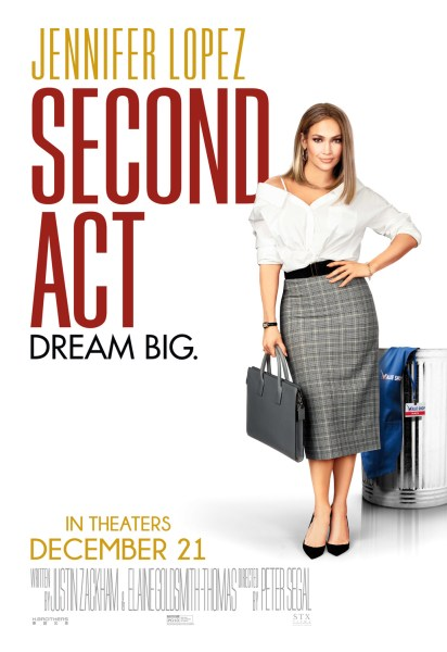 Second Act New Film Poster