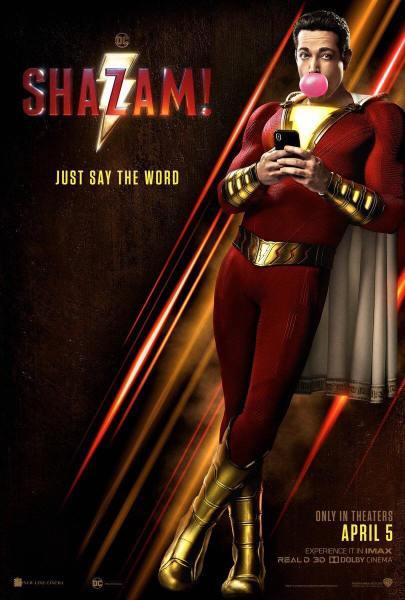 Shazam New Poster