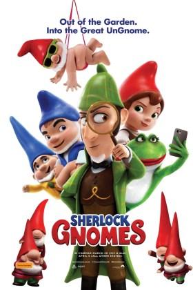Sherlock Gnomes Australian Poster