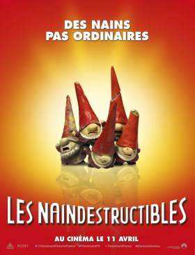 Sherlock Gnomes French Poster