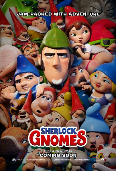Sherlock Gnomes UK Poster