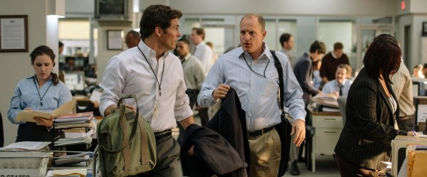 Shock And Awe Movie - James Marsden and Woody Harrelson
