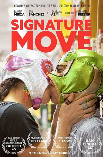 Signature Move Movie Poster