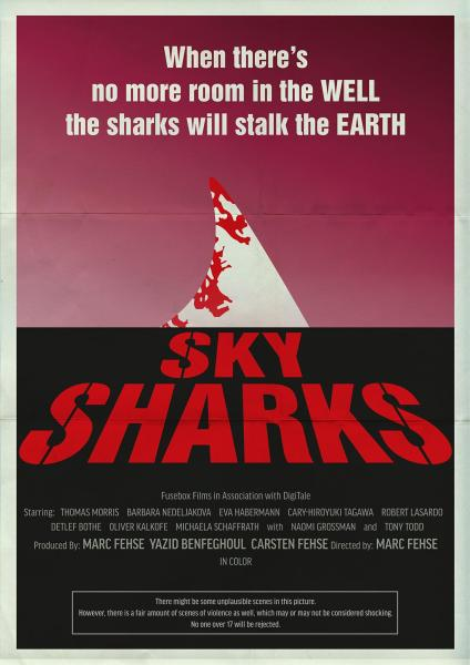 Sky Sharks Movie Poster