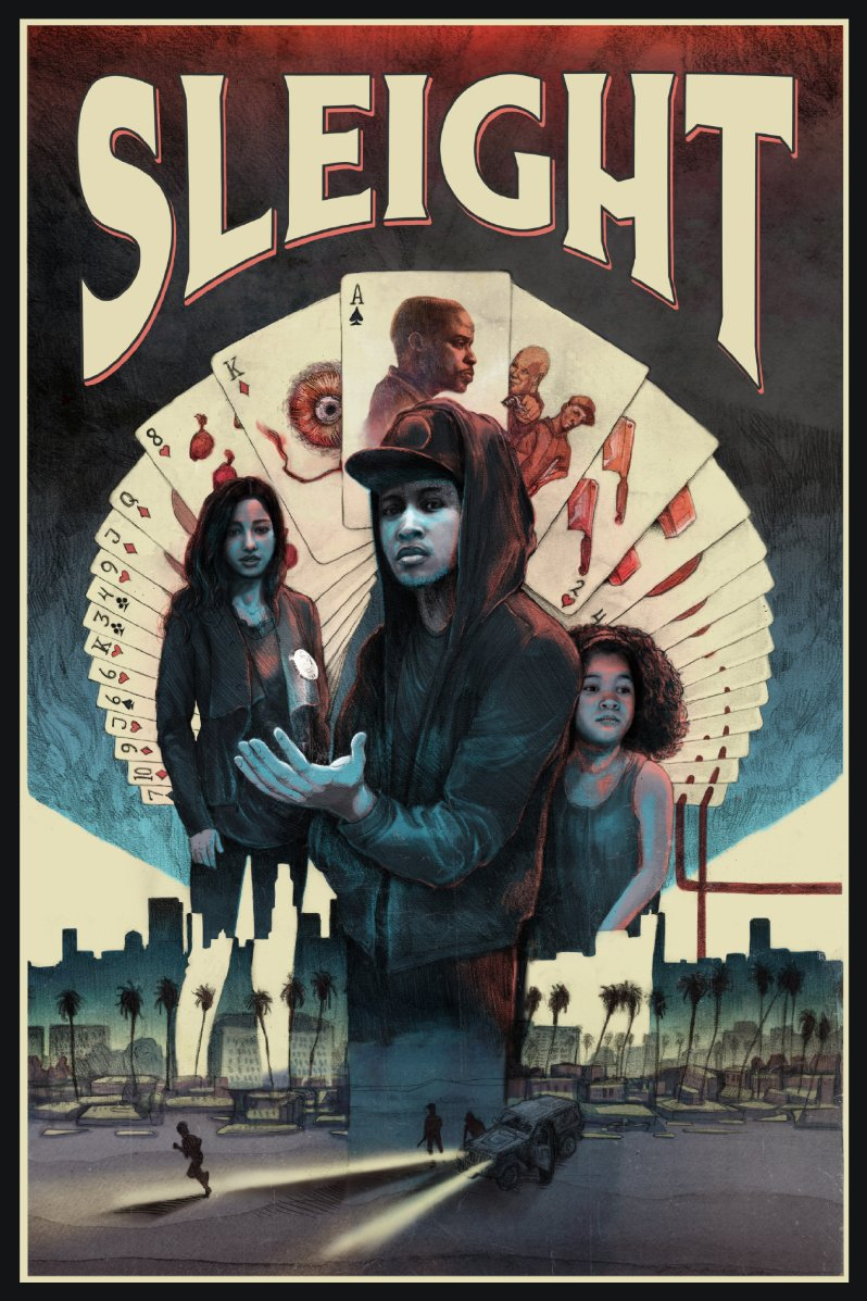 Image result for sleight movie poster