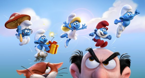 Smurfs The Lost Village - Thanksgiving viral video