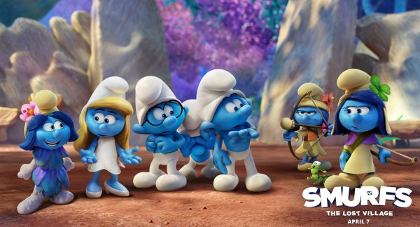 Smurfs The Lost Village Voice Cast and Characters