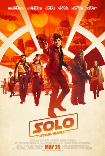 Solo A Star Wars Story Film 2018 Poster