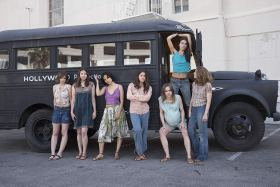 Sosie Bacon, Hannah Murray, Suki Waterhouse, Dayle McLeod, Kayli Carter, Julia Schlaepfer, And Marianne Rendón In Charlie Says