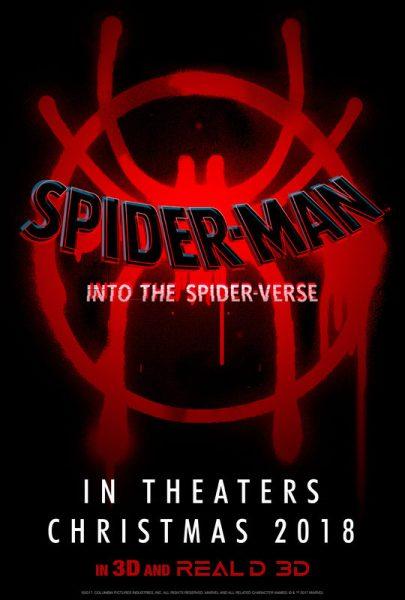 Spider Man Into The Spider Verse Movie Teaser Poser
