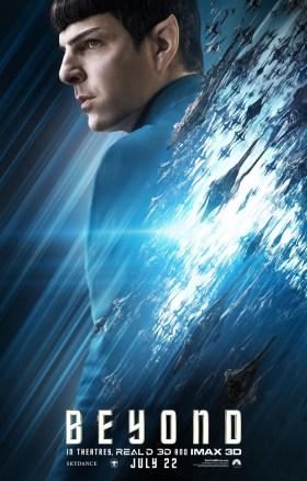 Star Trek Beyond - Zachary Quinto as Spock
