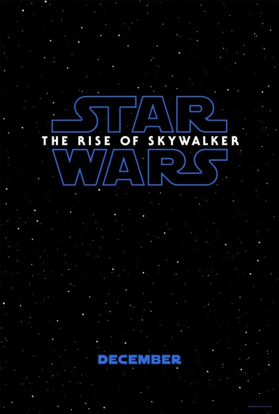Star Wars 9 Rise Of The Skywalker Poster