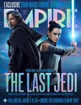 Star Wars The Last Jedi - Luke Skywalker and Rey
