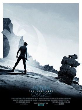 Star Wars The Last Jedi UK Poster
