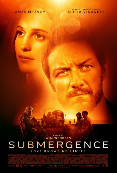 Submergence New Film Poster