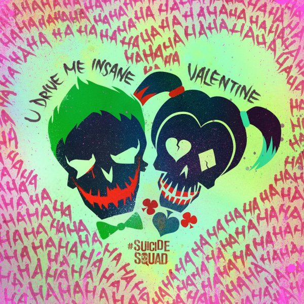 Suicide Squad Vanlentine's Day