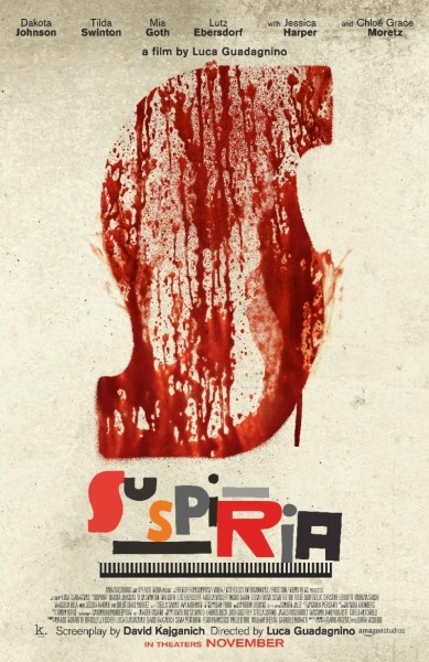 Suspiria Movie New Poster