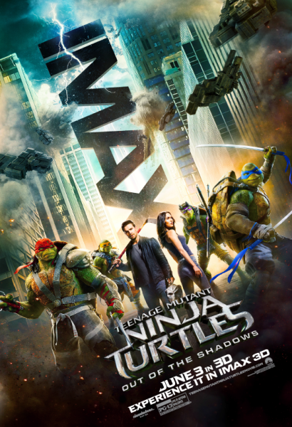 TMNT2 Out of the Shadows IMAX Poster
