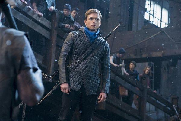 Taron Edgerton is Robin Hood