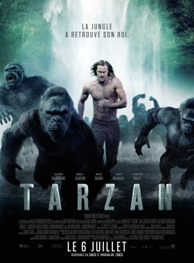 Tarzan Running - The Legend of Tarzan movie poster