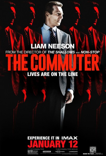 The Commuter IMAX Poster