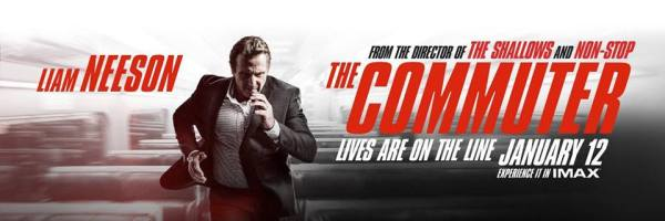 The Commuter New IMAX Banner