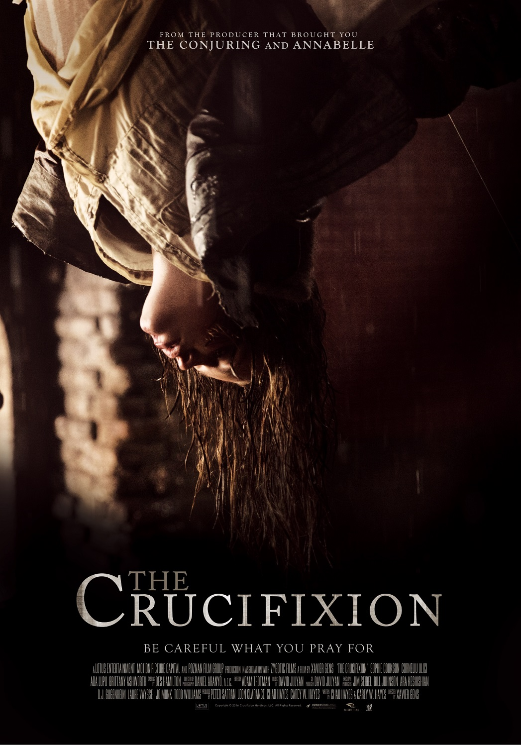 the crucifixion movie poster teaser trailer. Black Bedroom Furniture Sets. Home Design Ideas