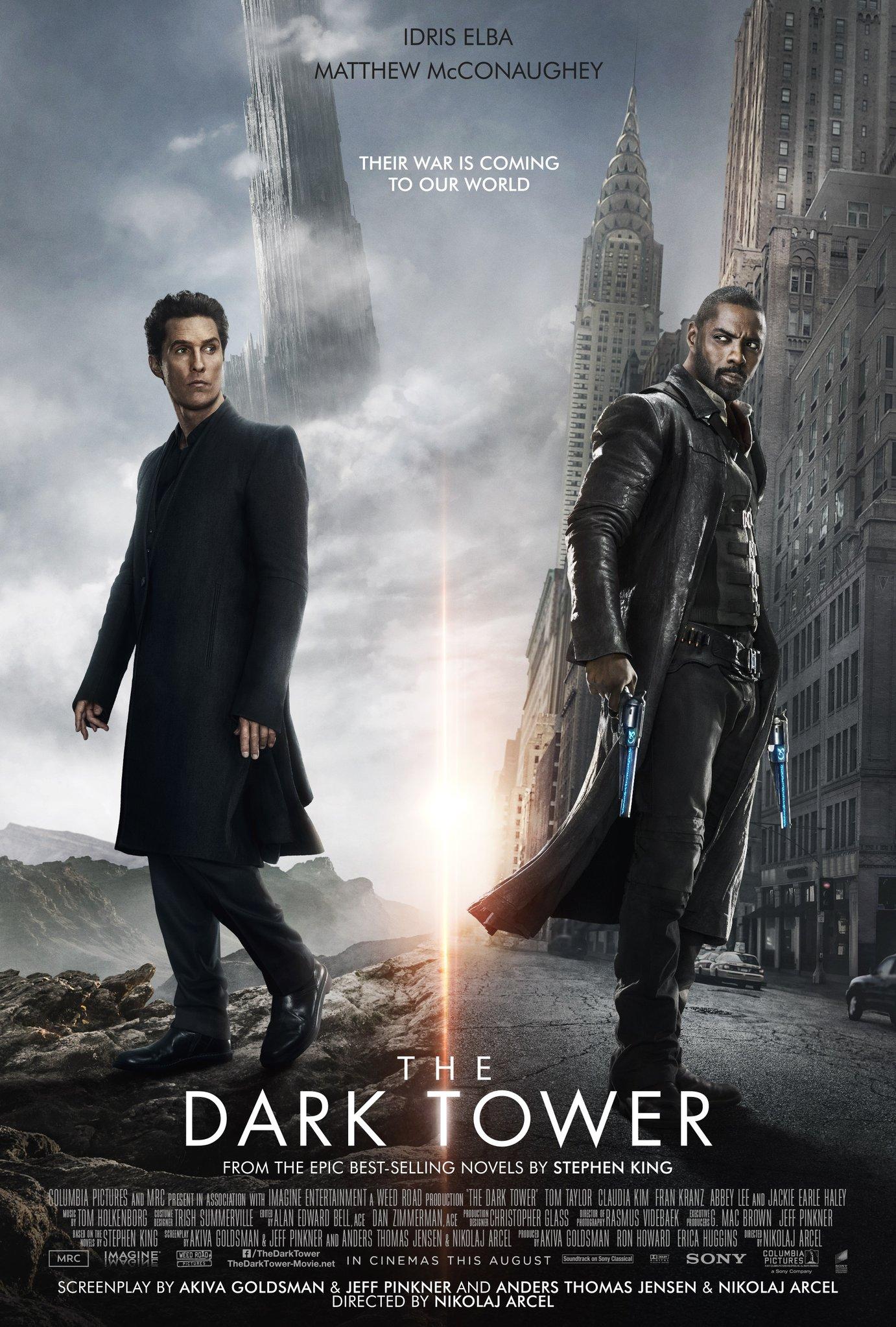 Znalezione obrazy dla zapytania dark tower poster