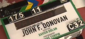 The Death And Life Of John F. Donovan Film Clapperboard