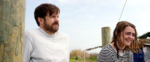The Devil and the Depp Blue Sea - Jason Sudeikis and Maisie Williams