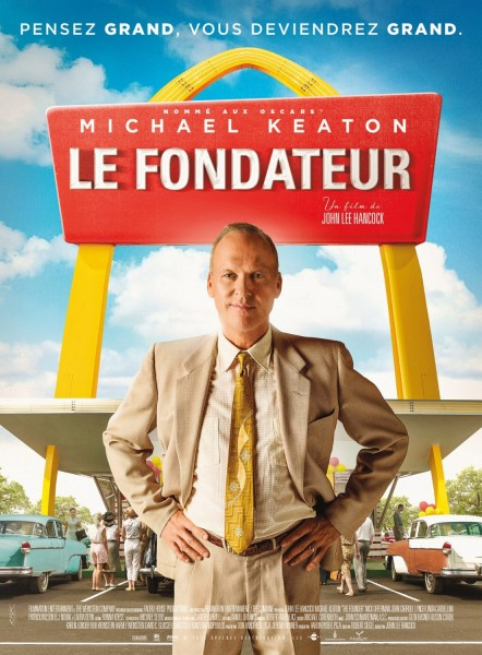 The Founder French Poster