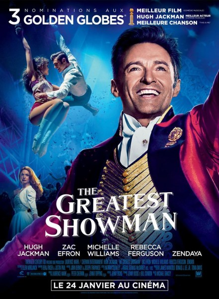 The Greatest Showman French Poster