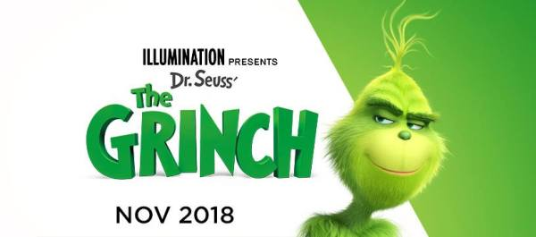 The Grinch Movie Banner Poster