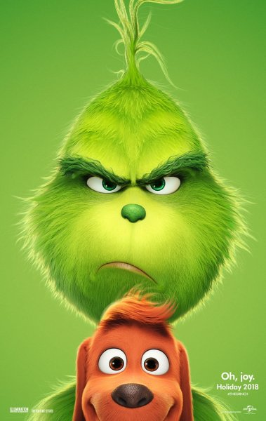 The Grinch New Poster Little Grinch And His Little Dog