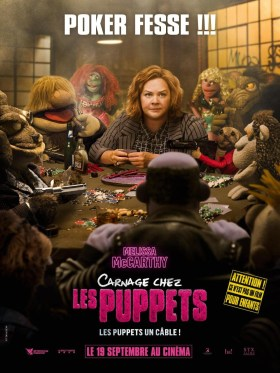 The Happytime Murders French Poster