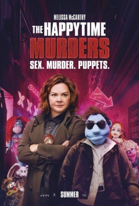 The Happytime Murders New Film Poster