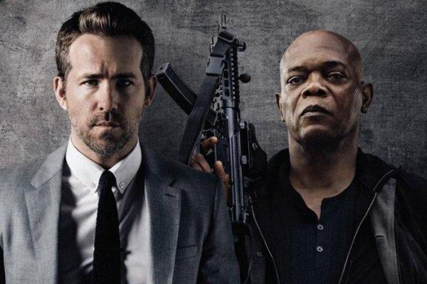 The Hitman's Bodyguard (2017) - Ryan Reynolds and Samuel L Jackson